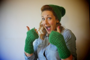 Exclusive Treat - hand-made beanies and/or mittens