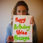 Exclusive Treat - Becki will film a personalised Birthday Message for you or a friend!
